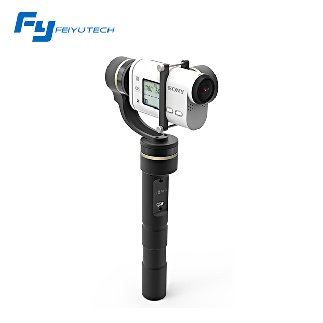 FeiyuTech G4GS 3 Axis Handheld Gimbal Specifically for Sony AS100V/AS200V/X1000V Sony AS series Action Cams Brushless Gimbal