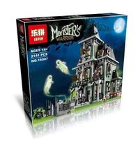 2016 New LEPIN 16007 2141Pcs City Monster Fighter Haunted House Model Building Kit Minifigure Blocks Brick Compatible Toys 10228