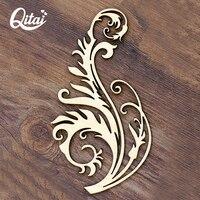 QITAI 12 peças/lote O mais antigo clássico videira flor Produto Criativo artesanato DIY scrapbooking para crianças home decor WF024