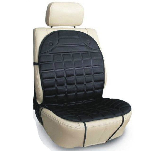12V Heated Seat Cushion With Lumbar Support Used In Car Office