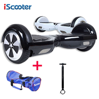 Hoverboard 6 5 Inch IScooter Bluetooth 2 Wheel Smart Balance Electric Scooter Free Shipping Electric Skateboard