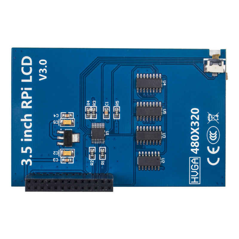 "Sunfunder 3,5 ""Raspberry Pi pantalla táctil 480x320 TFT pantalla táctil Monitor para RPi 3 Pi Zero 2 modelo"