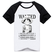 One Piece Luffy Cosplay Tshirt