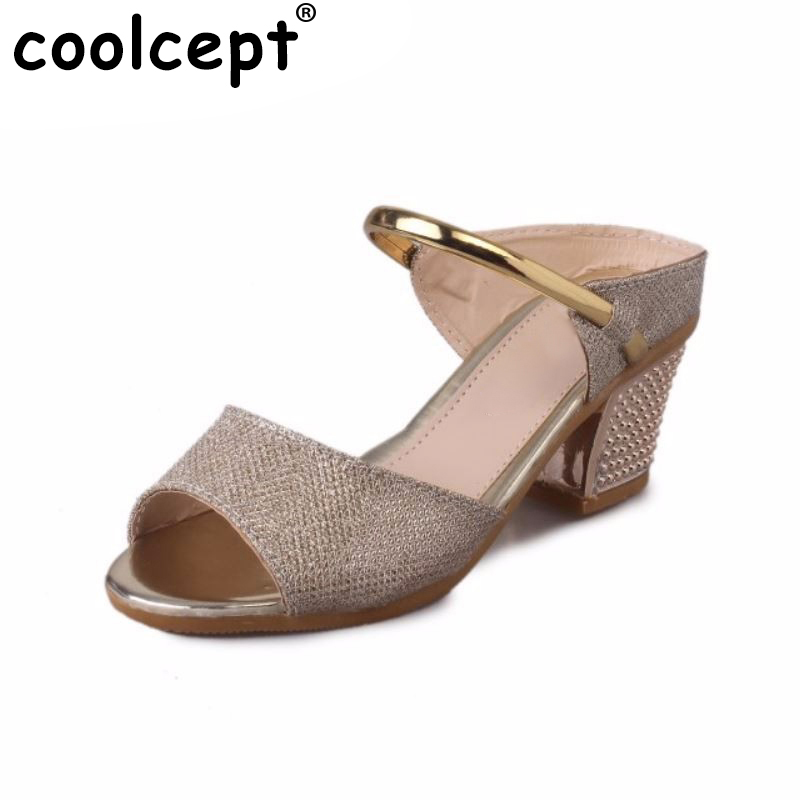 high heels sandals gold sliver ankle-wrap women peep toe ladies heeled sandals shoes gladiator heel footwear size 36-40 WA0467 woman ankle wrap dress shoes women wedges sandals clip toe brand quality fashion roman beading ladies footwear size 36 40 we0087