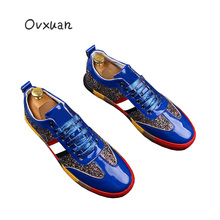 2019 Summer Italian superstar luxury brand Shoes Men sneakers Male Runway Design