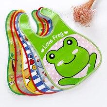 Мультяшные детские нагрудники Eva водонепроницаемые банданы для новорожденных Детская отрыжка для кормления Одежда для девочек и мальчиков слюнявчик полотенце с принтом фартук EVA бандана