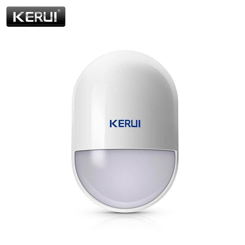 KERUI P829 inalámbrico PIR Detector de movimiento para KERUI casa sistema de alarma de casa inteligente Detector de movimiento de Sensor con batería