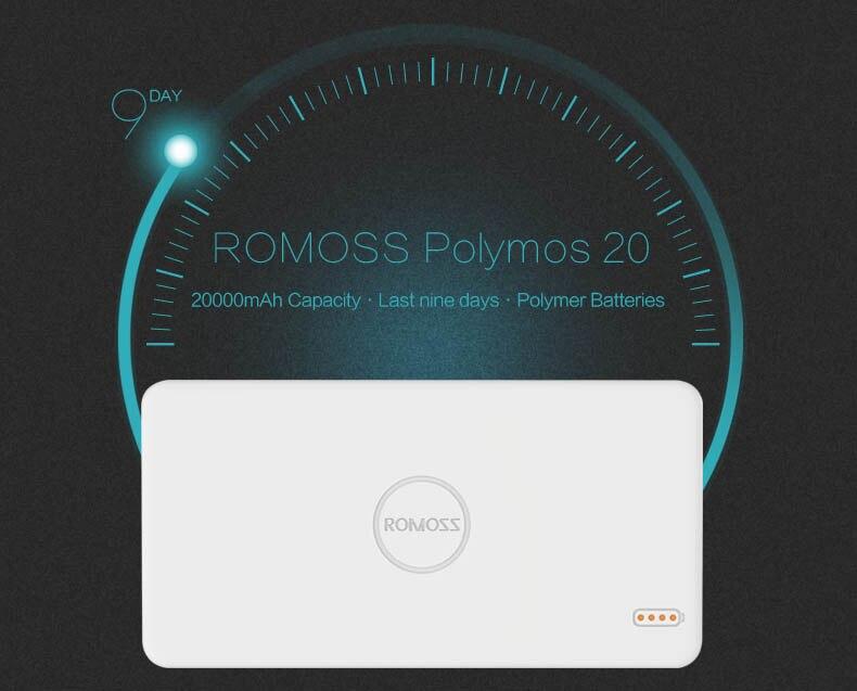 ROMOSS Polymos 20 power bank 1