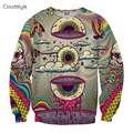 Street Style Autumn New Arrival New Fashion Autumn sweatshirts 3d print Colorful Eyes women/men Brand hoodies casual sudaderas