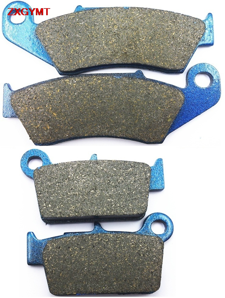 Sintered Brake Shoe Pads Set for GAS GAS XC 300 XC300 2018 - Front Rear 18