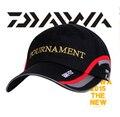 2017 el más nuevo daiwa marca pescadores cubo sombrero para los hombres de verano anti-ultravioleta protector solar gorro de algodón tapa de deporte al aire libre de atletismo negro blanco