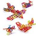 Mini 252Pcs/Set Models & Building Toy Magnetic Designer Educational Building Blocks Plastic Assemble Enlighten Bricks Kids Toys