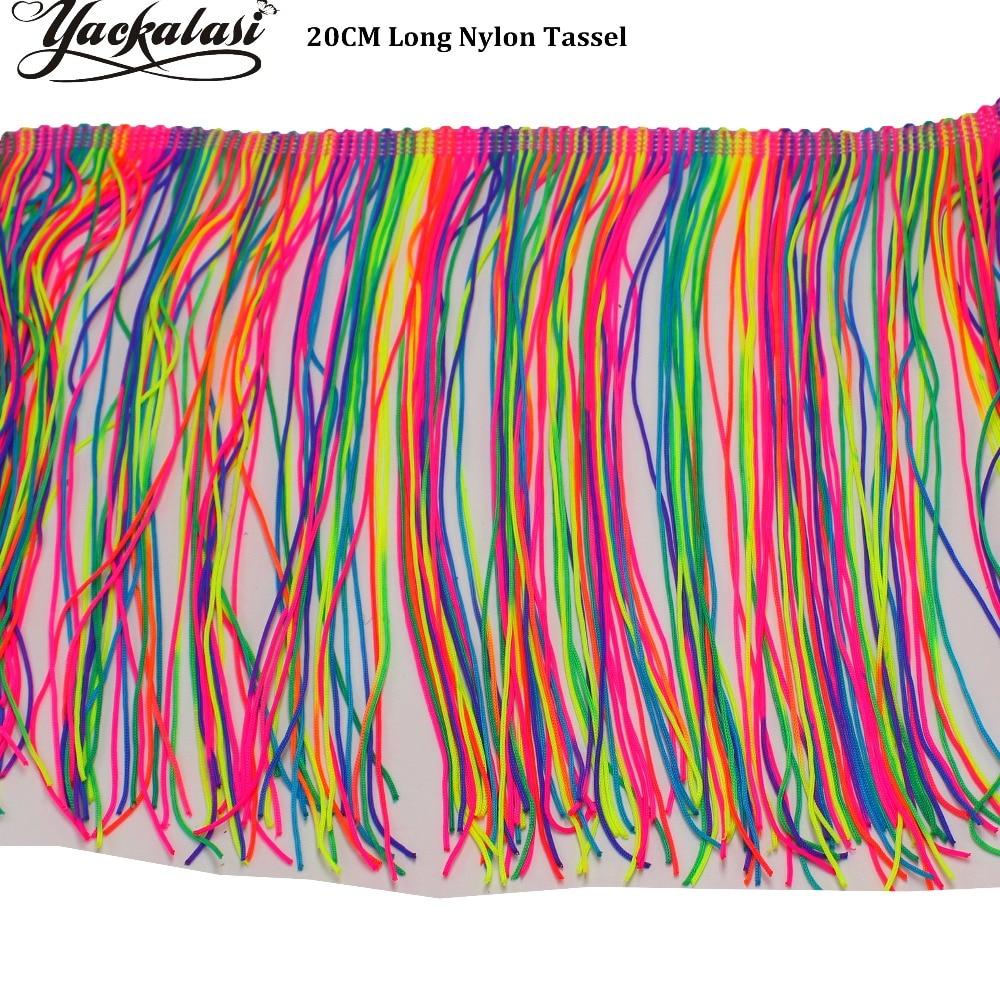 Chainette Fringe Tassel Various Colors 5 Yds նեյլոնե - Արվեստ, արհեստ և կարի - Լուսանկար 3