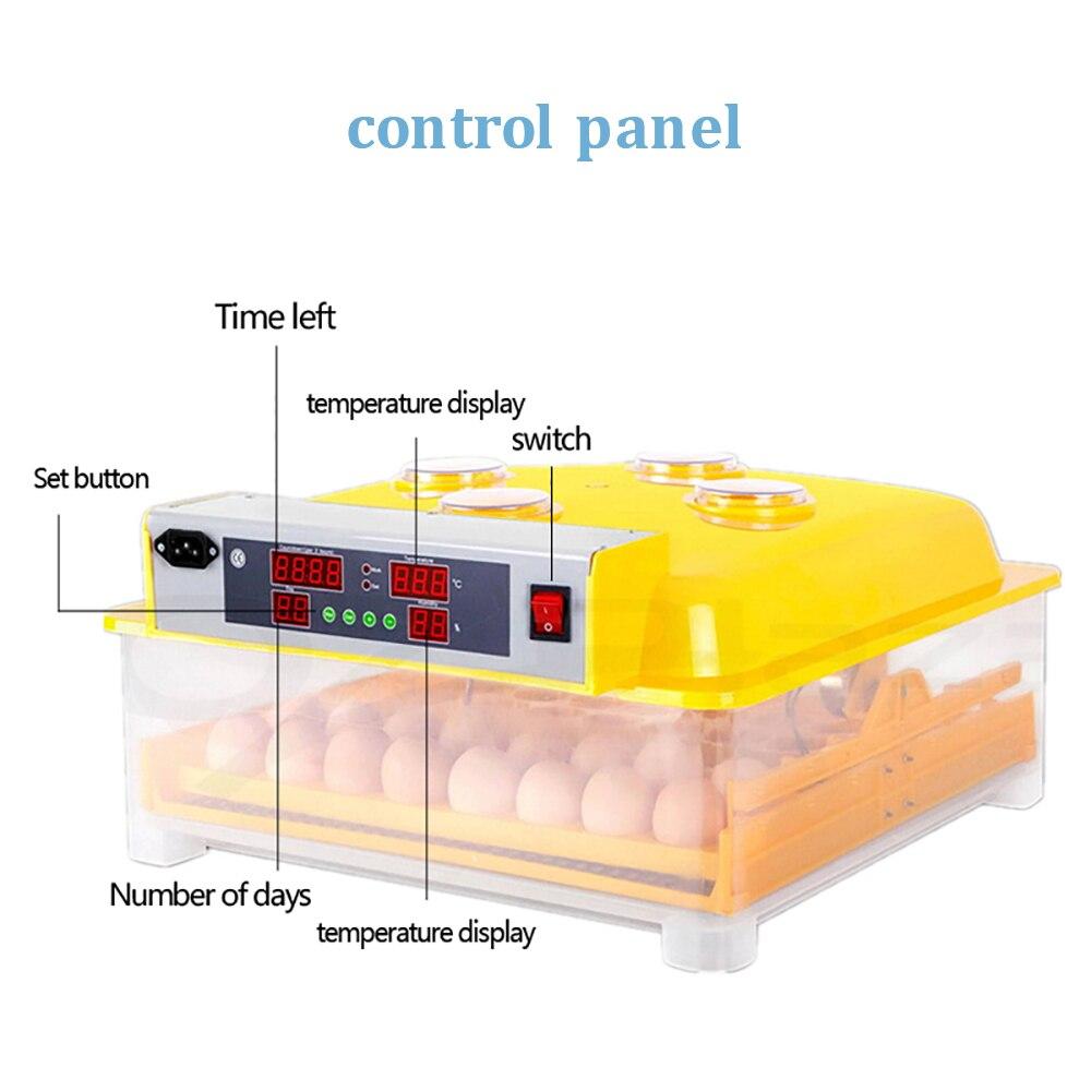 Sprzedaje tanie inkubator gospodarstwa domowego mini hatcher cyfrowy 48 jaja toczenie wylęgarnia automatyczne temperatury nasiadka kurczaka w Produkty do nawożenia i nawadniania od Dom i ogród na  Grupa 3