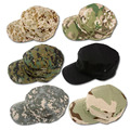 Military Hats: Many Colors Kepi Outdoor Camouflage Caps High Quality Thickened Soldier Cap 23 Colors H25F02