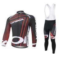 2017 Team ORBEA Long Ropa Ciclismo Cycling Jerseys Sets Autumn Mountian Bicycle Clothing MTB Bike Clothes