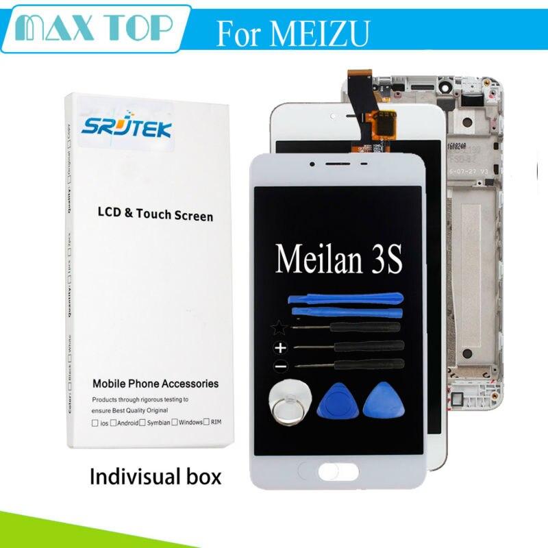 Probado para Meilan 3 S LCD Display + Touch Screen Reemplazo Digitalizador 5 ''P