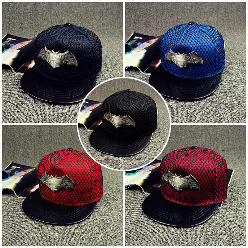 Detail Feedback Questions about 2016 Fashion Summer Brand Batman Superman  Baseball Cap Hat For Men Women Casual Bone Hip Hop Snapback Caps Sun Hats  on ... caabca8648e5