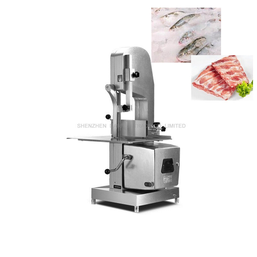 commercial meat band saw cutting machine bone cutting machine Freeze meat fish cutter machine slice meat machine for Household surface modification of polymers