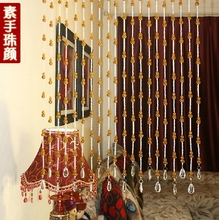 Free shipping 20meters/lot porch partition door glass curtain decorative curtains of gourd shape crystal curtain