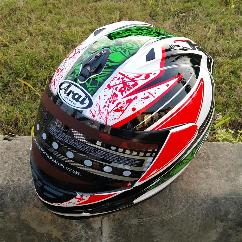 все цены на New arrival Brand Valentino Rossi motorcycle helmet MOTO Kart racing full face helmet men motociclistas capacete DOT M/L/XL/XX 8