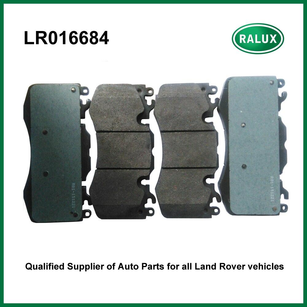 Car & Truck Parts For Land Rover LR4 2010-2012 Set of Front & Rear Disc Brake Pads & Sensors