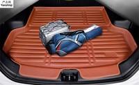 Fit Für Honda Fit/Jazz Fließheck GK5 2014 2018 Boot Mat Hinten Stamm Liner Fracht Tray Boden Teppich schlamm Kick Protector 2015 2016|Autoaufkleber|   -