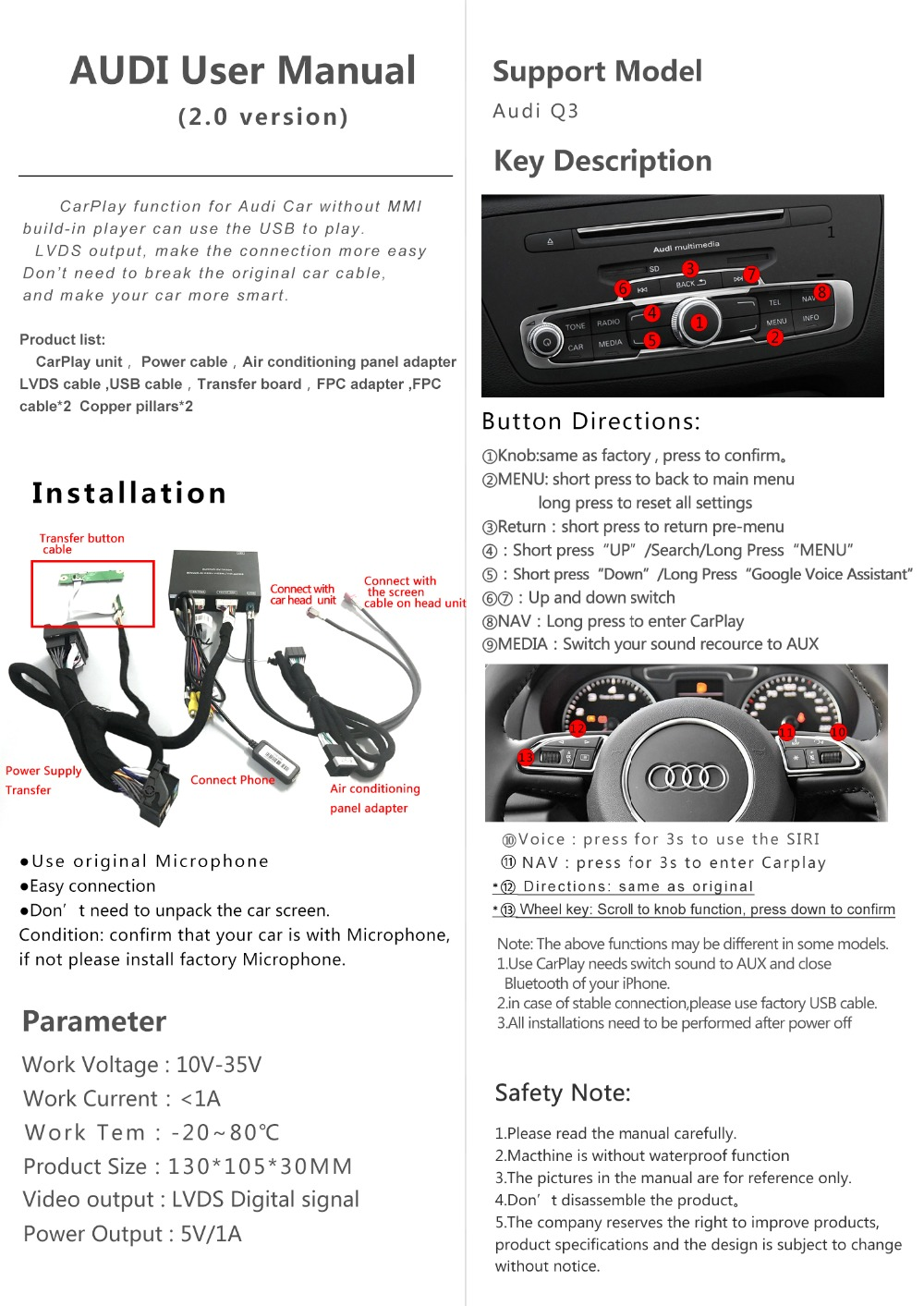 Detail Feedback Questions about Car multimedia Aftermarket