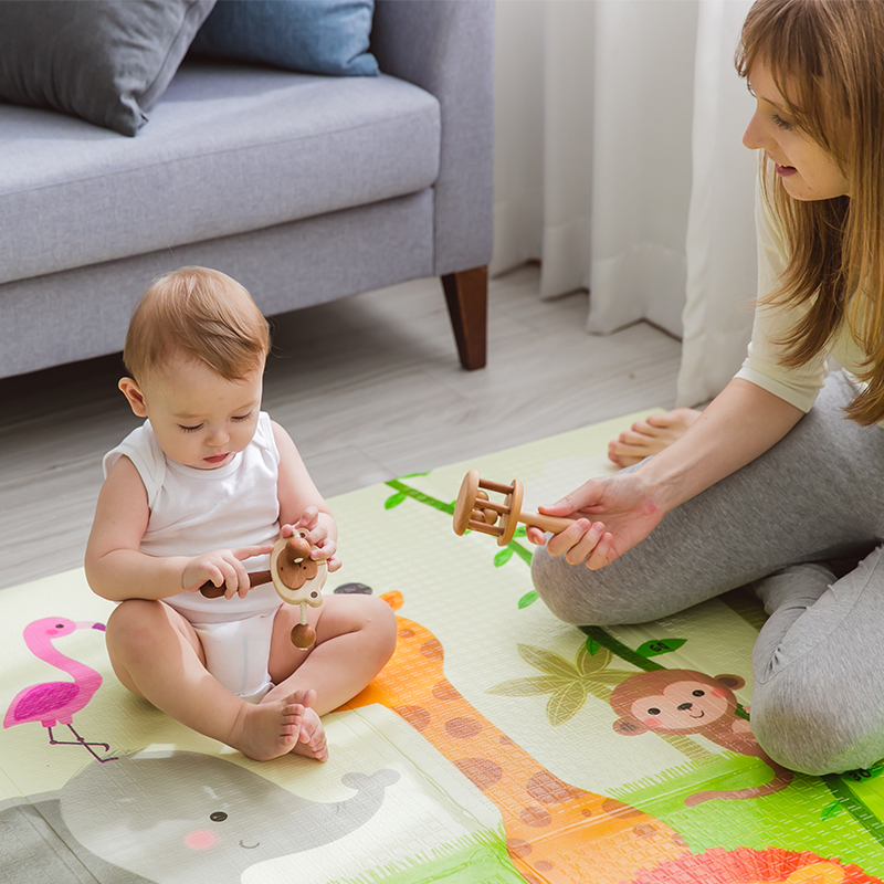 Haute qualité XPE pliable infantile bébé pliant tapis de jeu enfant ramper tapis imperméable antidérapant tapis de jeu bébé tapis - 6