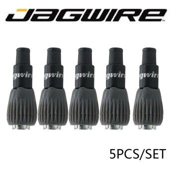 Jagwire, tornillo de velocidad variable, mini dispositivo de ajuste, desviador de bicicleta individual, regulador de piezas de bicicleta