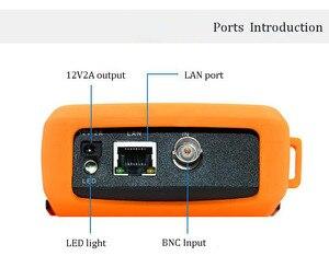 Image 2 - جهاز اختبار دوائر المراقبة التلفزيونية المغلقة 4.3 بوصة H.265 4K IP تناظرية CVBS كاميرا اختبار واي فاي PTZ ONVIF 12V2A الإخراج