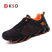 Outdoor Running Shoes Men Sneakers Sport Shoes Athletic Zapatillas 2018 Design Soles Breathable Cushioning Trainnig Shoes Male