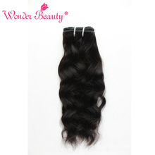 Wonder Beauty Hair Brazilian Natural wave Weave can buy 3 bundles 100% Human Hair Extension nonremy 8-30 Inches Hair piece