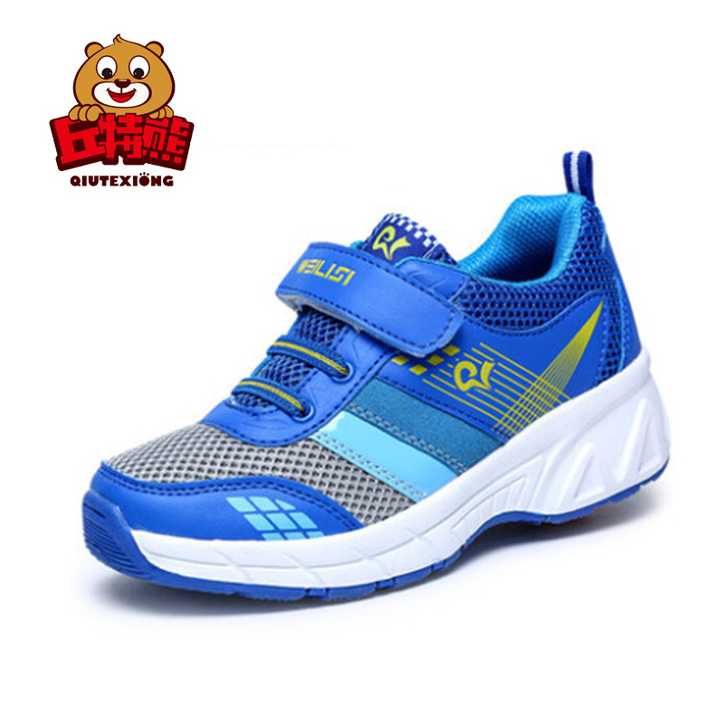 Children Boys Girls Sneakers with Wheels Spring Summer Mesh Boys Shoes Breathable Girls Walker Sneakers for Kids 2018