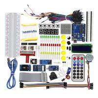 High Quality Best Price Ultimate Starter Kit 1602 LCD Servo Motor LED Relay RTC for arduino DIY KIT