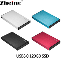 Zheino P2 120G USB3 0 External Aluminum Case Super Speed With 2 5 SATA Solid State