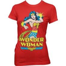 DC Comics Wonder Woman T Shirt Women Printed Short Sleeve Casual Ladies Tee US size XS-2XL