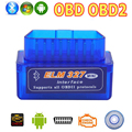 OBD2 OBD ii Беспроводной V2.1 Супер Мини ELM327 Bluetooth Интерфейс Авто Сканер Диагностический Инструмент ELM 327 Для Android Крутящий Момент Windows