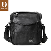 DIDE New Brand Vintage Men Bag Shoulder Crossbody Bags Small Male Leather Handbags IPad designer Cover waterproof