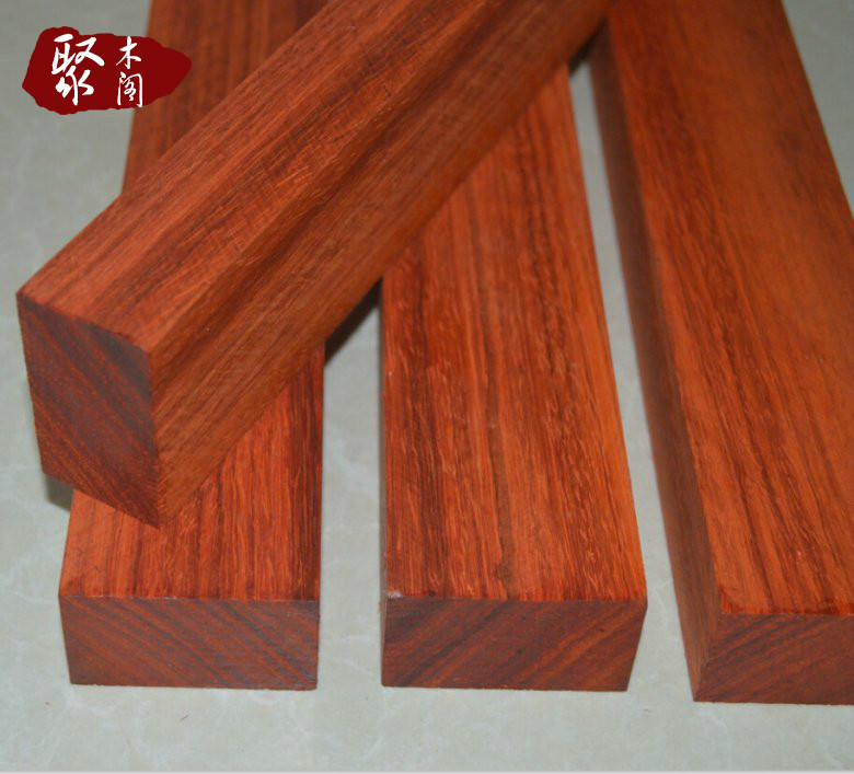 Rosewood Handmade Wood Material Nepal Red Sandalwood Knife Handle Material Plate Wood -1 Piece