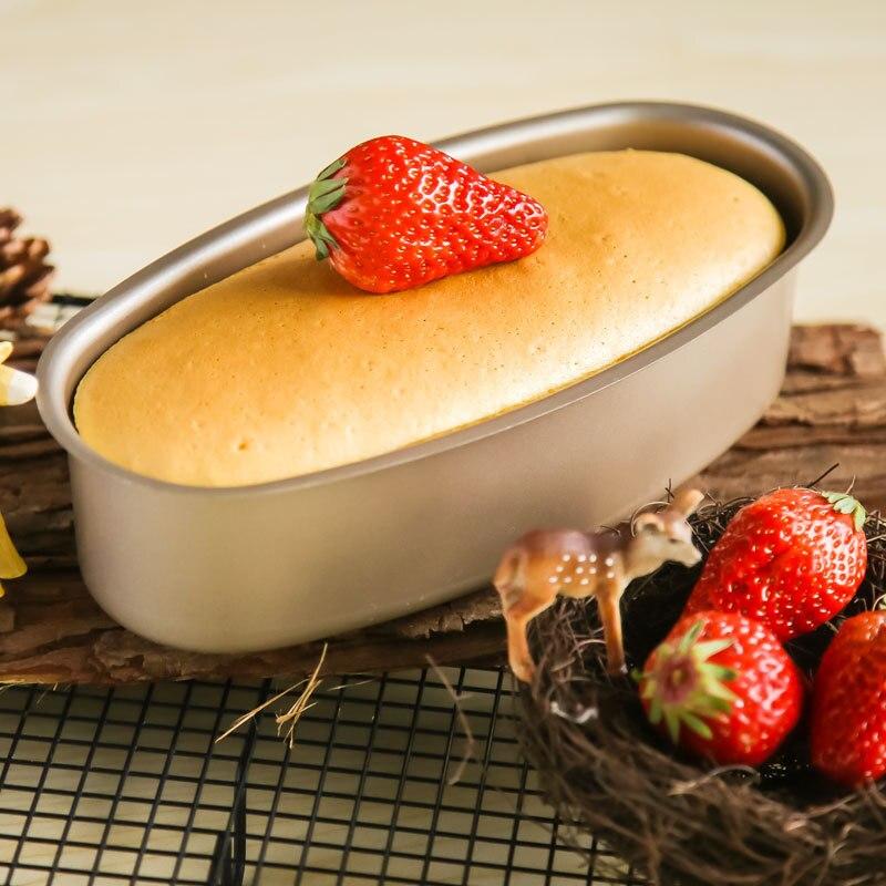 1 pcs moule non bâton ovale pain moule à Haute température four outils de cuisson petit déjeuner maker dans   de