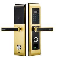 Jcsmarts отпечатков пальцев замок цифровые электронные замки для дома Anti theft интеллектуальная Lock Password и карт IC
