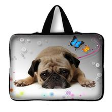 7 10 12 13 15 17.3 inch Cute Pug Laptop Sleeve Waterproof Sleeve Pouch Bag Tablet Case Cover For Dell HP ASUS 15.6 13.3 14.4 #D