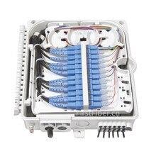 FirstFiber FTTH 12 ядер волоконно-оптическая оконечная коробка 12 портов 12 каналов разветвитель коробка внутренний наружный волоконно-оптический разветвитель коробка ABS