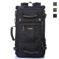 40L Large Capacity Laptop Backpack For Macbook ASUS Lenovo Multifunction Travel Messenger Bag Men Outdoor Hiking