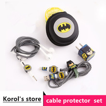 Earphone Protector Set With Charger Protector For iphone 5 6 6s 7 8plus
