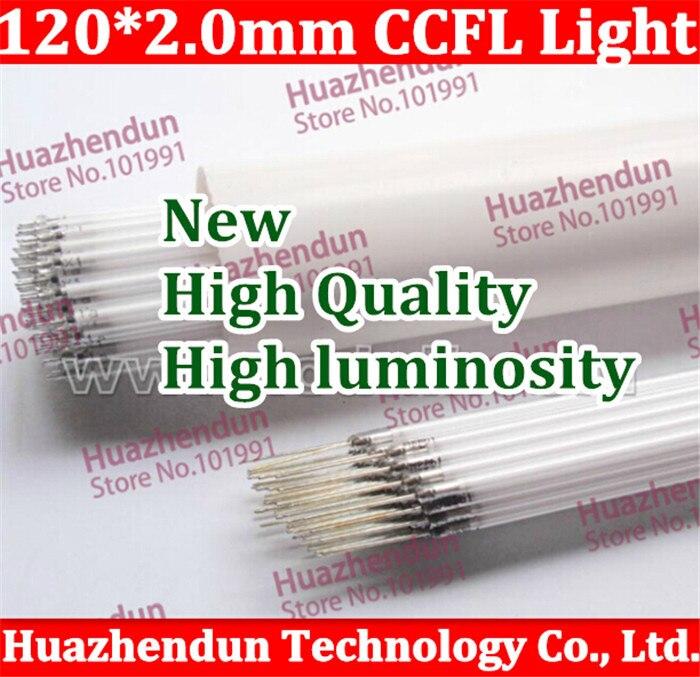 Free shipping Supper Light CCFL 120 mm * 2 mm LCD Backlight Lamp 20pcs/lot backlight lamp tube