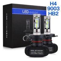 NICECNC S1 H4 High Low Beam HB2 9003 CSP LED Headlight Bulb For Kawasaki W650 ZG1200 ZR1100 ZRX1200 ZR7S ZR550 Zephyr