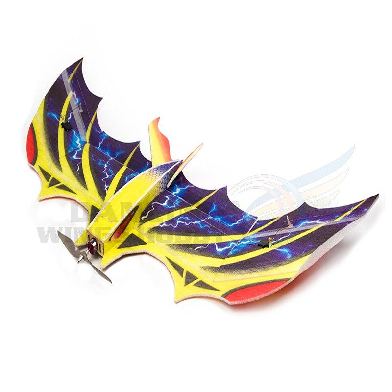 DW livraison gratuite 4CH RC EPP modèle d'avion mousseux biomimétique chauve-souris envergure 1030mm EPP modèle d'aéronef d'entraînement