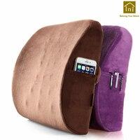 Car Waist Pillow Office Lumbar Cushion Back Cushion Throw Pillows Cojin Mat Office Chair Zitkussen Cushions For Loungers LKX070